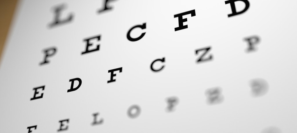 We answer the question how long does LASIK last. Image shows Eye testing chart
