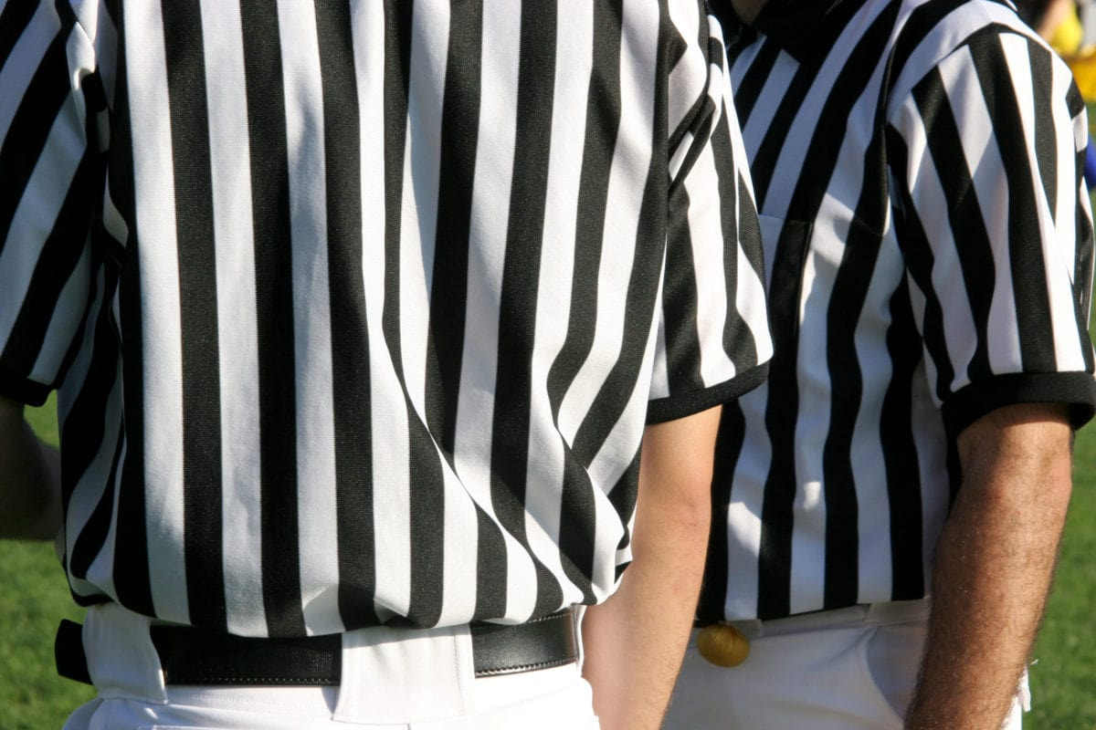 Super Bowl Referee Vision