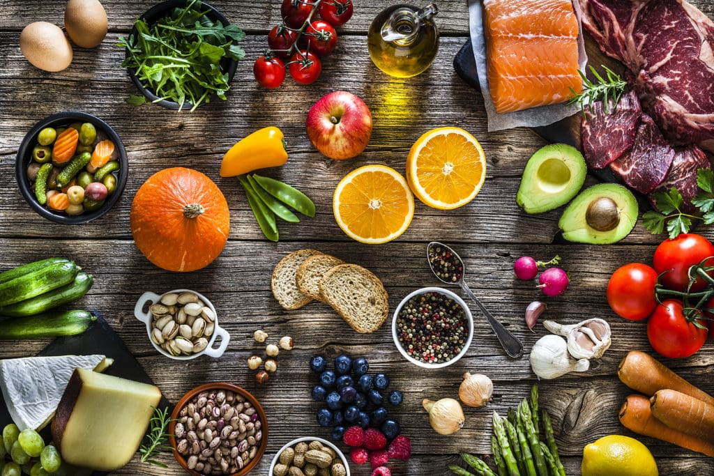 Healthy foods for a health immune system